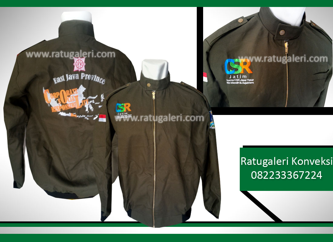 +jaket canvas csr