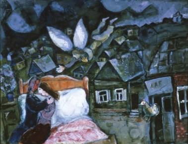 © M. Chagall, The dream, 1939