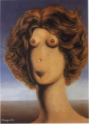© R. Magritte, La violazione