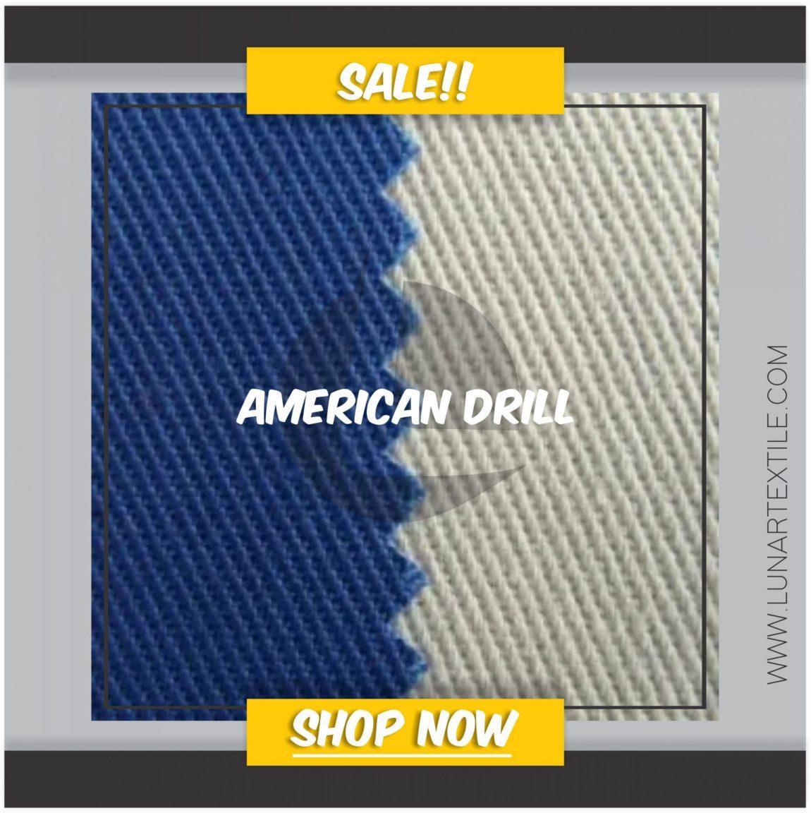 Bahan Unione Drill Untuk kemeja & Jaket