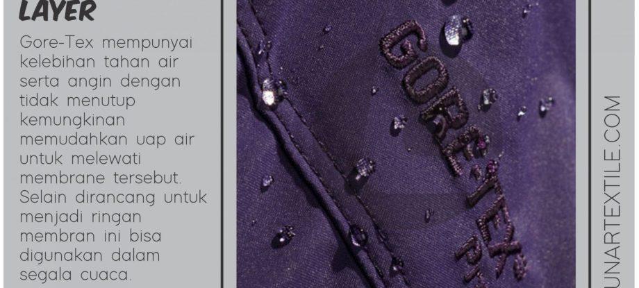 Bahan Kain Gore-Tex Waterproof