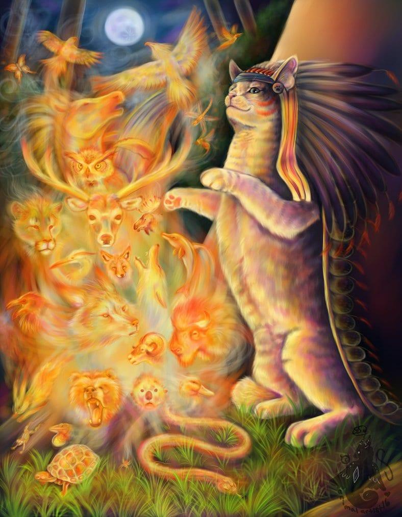 totem_spirits_by_animalartist16-d4cm05b