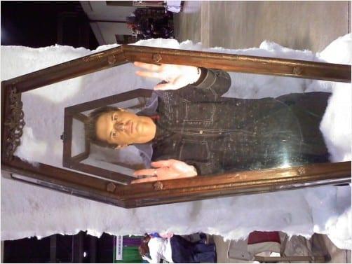 Zak Bagans In Glass Coffin Luna S Grimoire