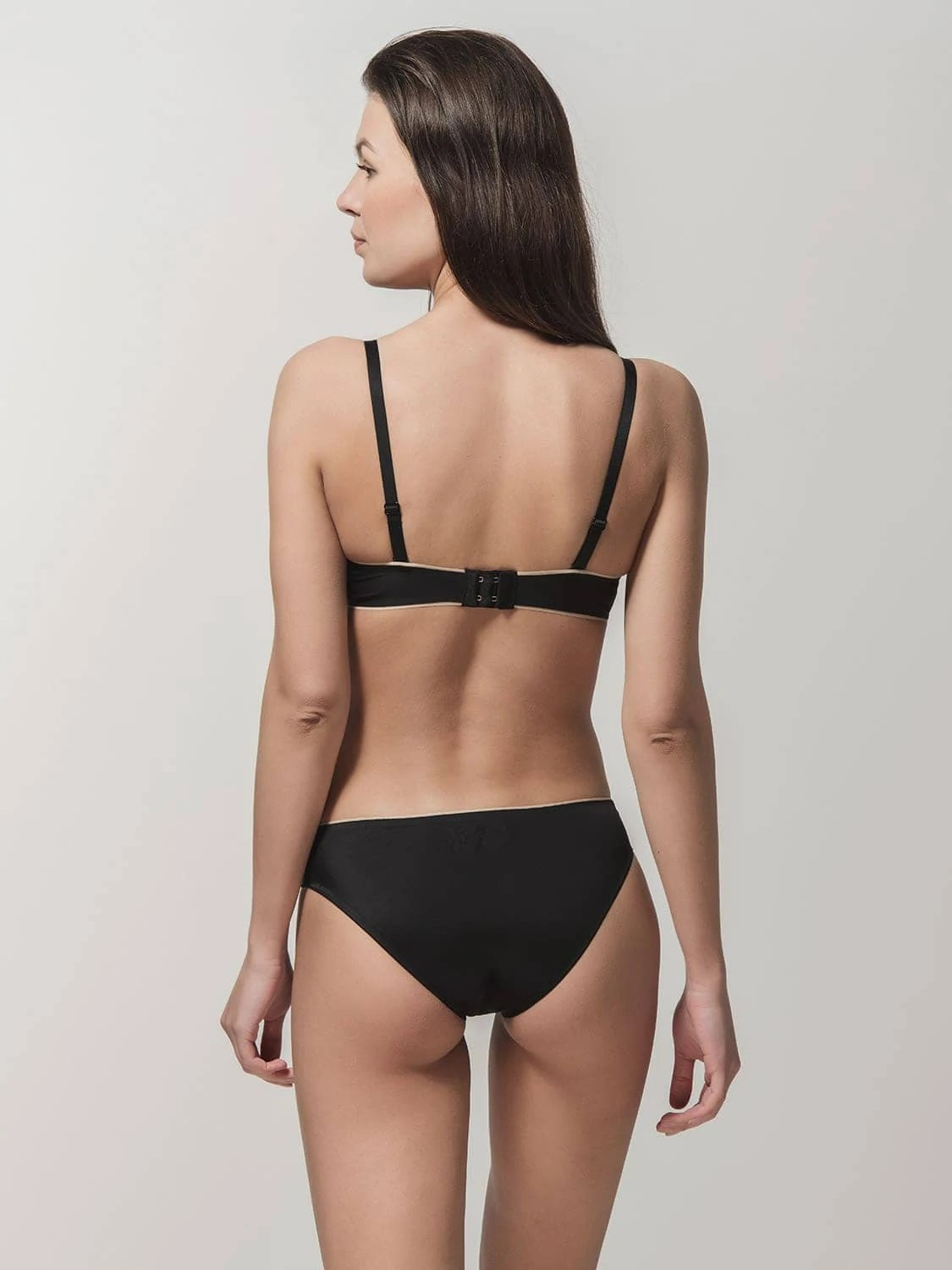 Miracle One 1809 push-up & 2808 brief black back