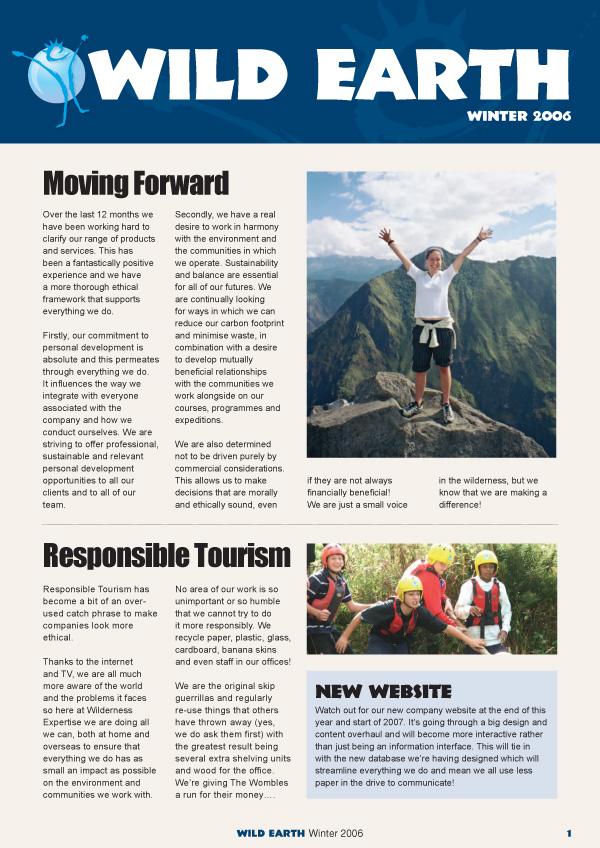 Lunatrix Design Company Newsletter & Magazine Design