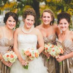 Fall Wedding Bouquets Romantic Wedding Bouquets Fall Wedding Flowers Minneapolis Semple Mansion Fall Wedding Romantic Fall Bouquet Bridal Bouquet Bridesmaid Bouquet Champagne Dress Fall Color With White Luna Vinca