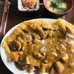 新潟 新潟市のコスパ定食屋【まつもと食堂】名物カツカレー大盛り☆
