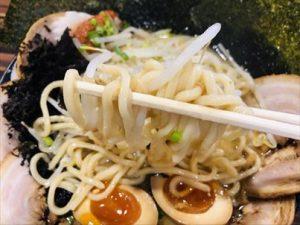 麺屋しゃがら 弁天橋店 合わせ味噌らーめん 麺リフト