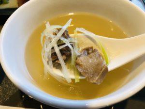 伊達の牛たん本舗 極厚芯たん定食 スープアップ