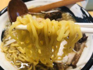 麺や かんぱち マーラー麺 麺リフト