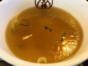 大阪王将 出来島店 餃子セット スープ