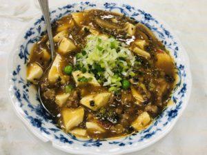鳳龍飯店 麻婆豆腐