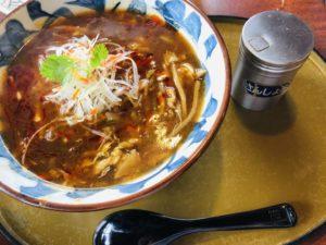 三宝亭 山田店 酸辣湯麺