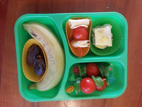 קופסת אוכל טעימה לצהרון