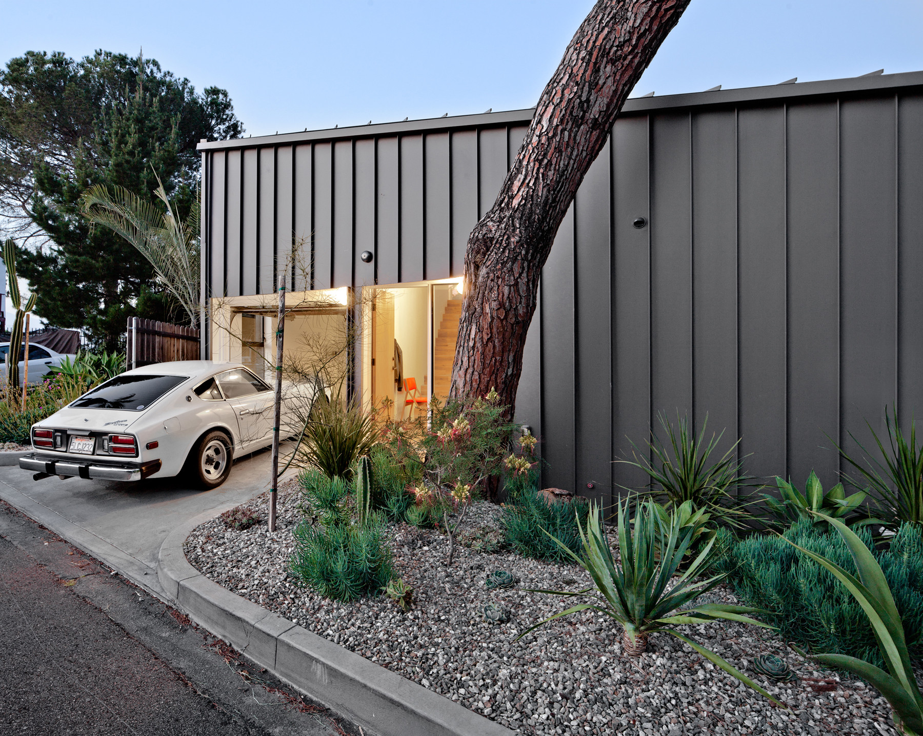 Single-space Living Area Helps Compact Home Feel