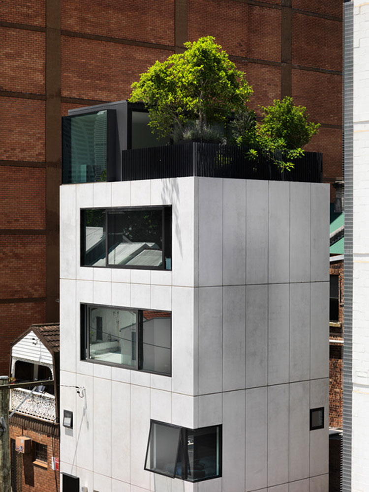 Small House Fits on a Site the Size of a Suburban Garage