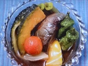 夏野菜のあげびたし