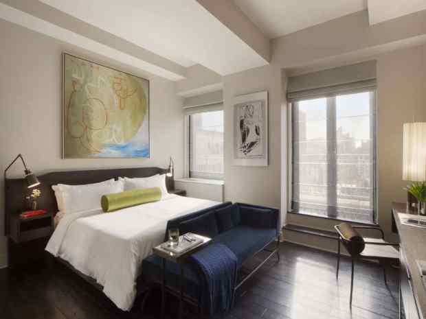 The modern comfort of the Marmara New York City