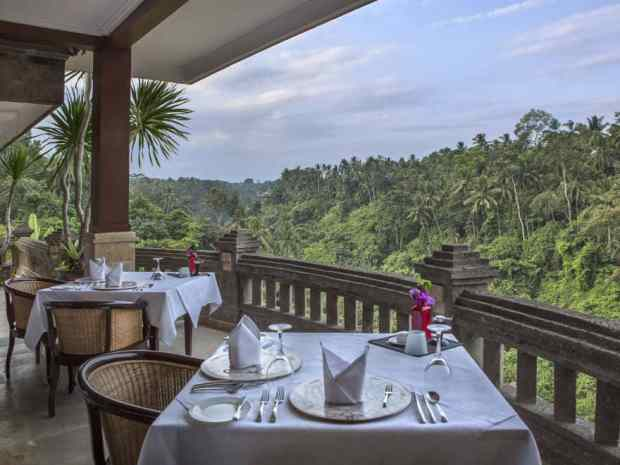 CasCades restaurant at Viceroy Bali, Ubud, Bali, Indonesia