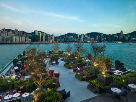 The Kerry Hotel Hong Kong, Red Sugar Terrace