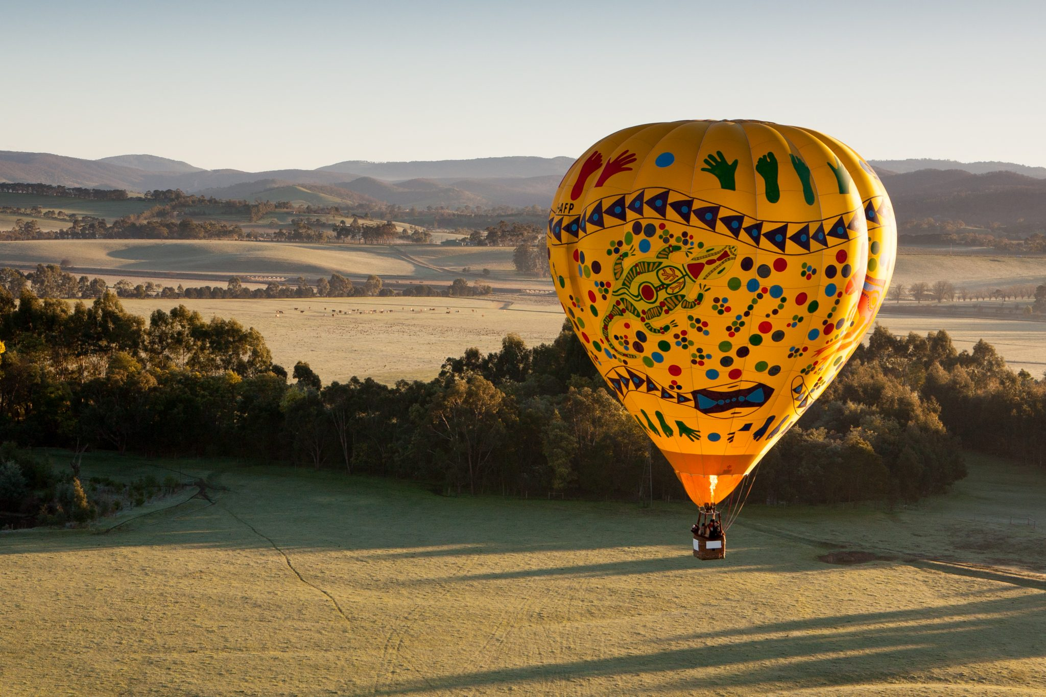 yarra valley sunrise