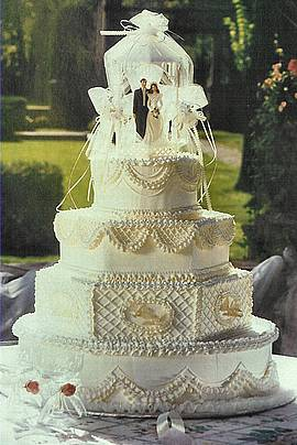 Bruidstaart patissier Fiorello Oase Valkenburg