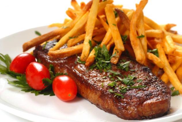Biefstuk menu Oase Valkenburg