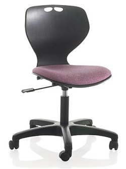 posture chair varier clear inflatable bubble mata swivel