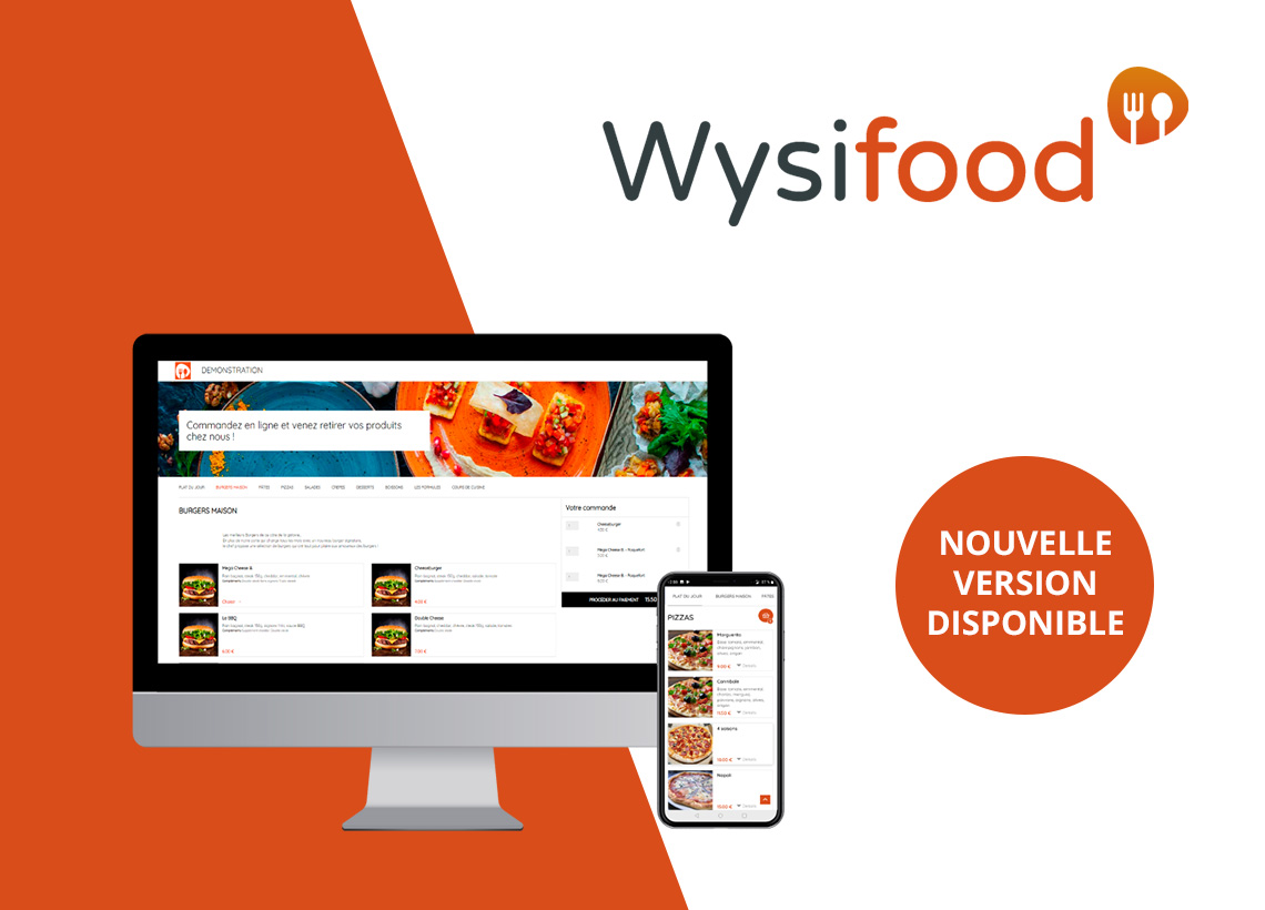 Nouvelle version Wysifood