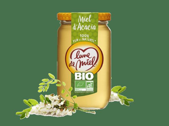 Miel biologique d'acacia