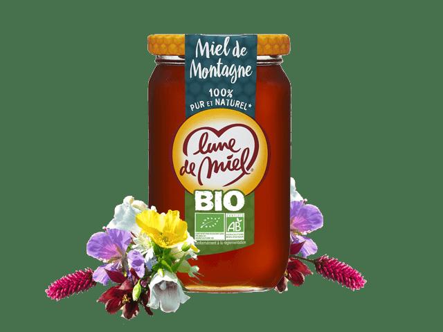 Miel biologique de montagne