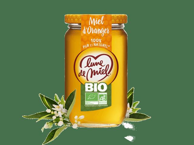 Miel biologique d'oranger