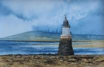 Plover Scar lighthouse Lune Estuary