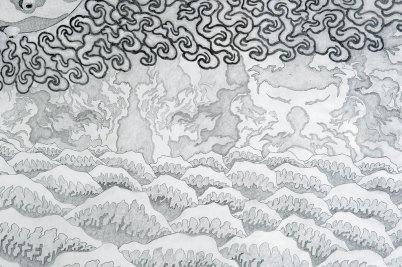 Turbulent Waves (detail 2)