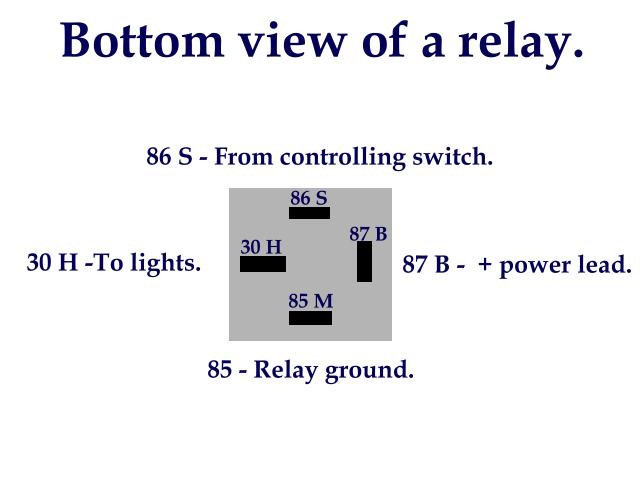 4 Pin Relay Spotlight Wiring Diagram