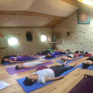 Savasana salle de yoga