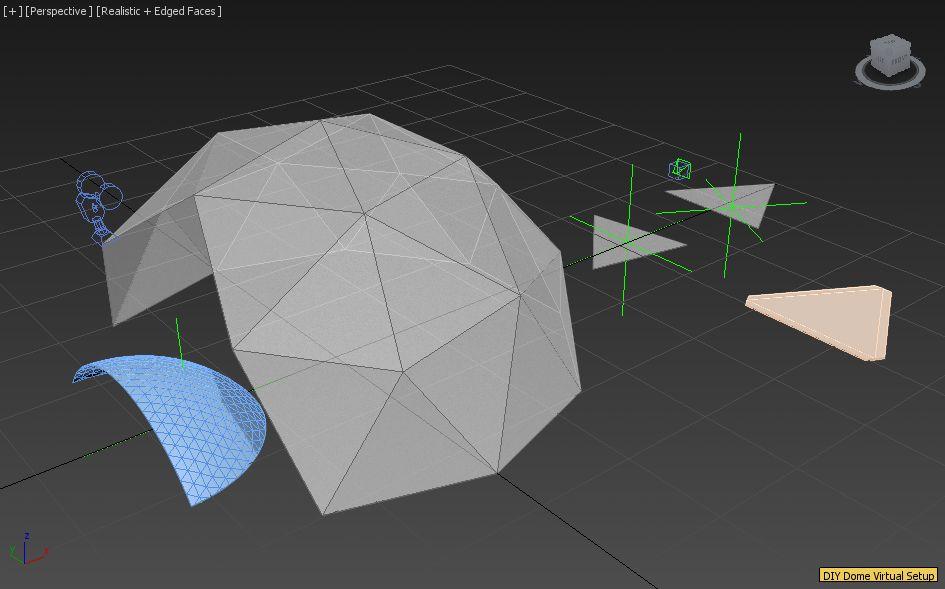 DIY Dome Virtual Setup