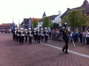 De Drumband tijdens het Districtsfestival te Nieuwstadt