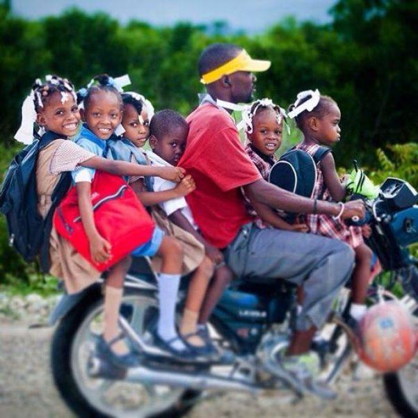 Haiti moto bike