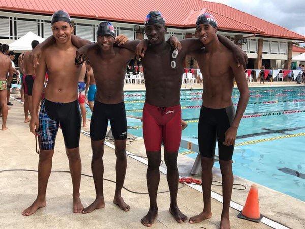Haitian Swim Team