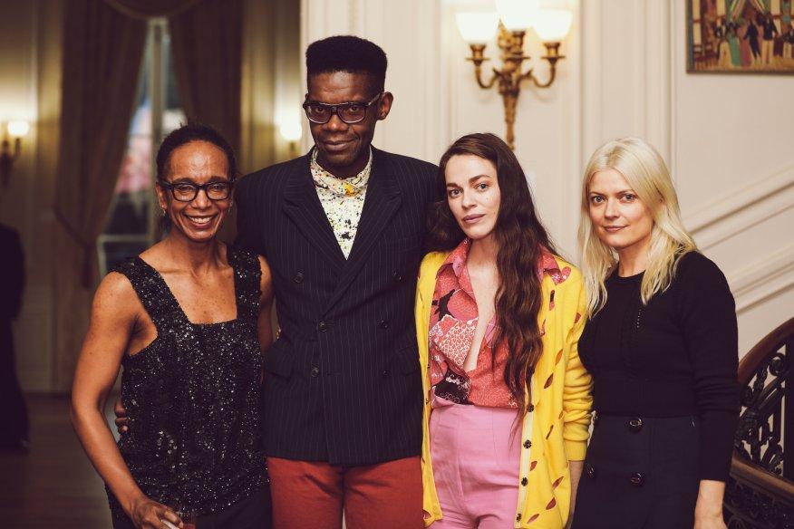 Washington Post Fashion Editor Robin Givhan, Victor Glemaud, Guest, Celebrity Stylist Kate Young,