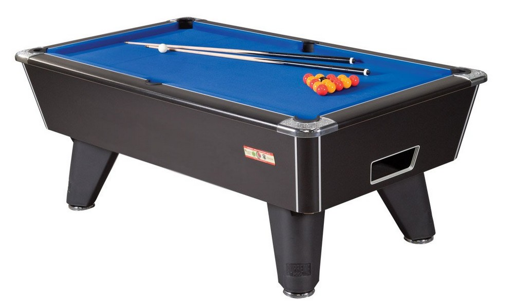 billard club 8ft noir