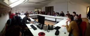 La riunione della sezione attualità