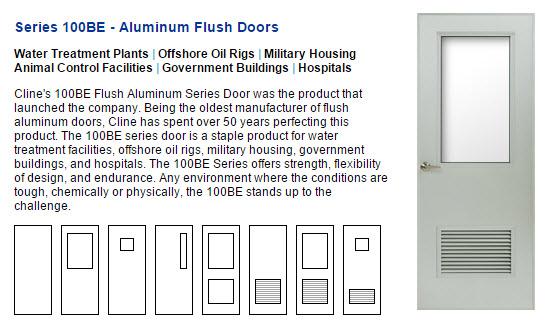 Cline Aluminum and FRP Doors  sc 1 st  Lunsford Door & Cline Aluminum and FRP Doors - Lunsford Door \u0026 Service Inc.