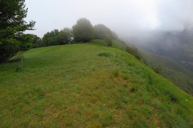 Monte e Pian della Cavalla da Fascia