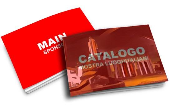 sponsor MAIN - Elaborato a colori 4° copertina del Catalogo