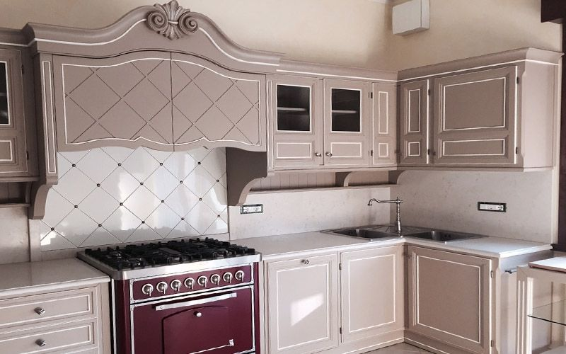 Cucina dalleleganza classica  Progetti  Lupi Arredamenti