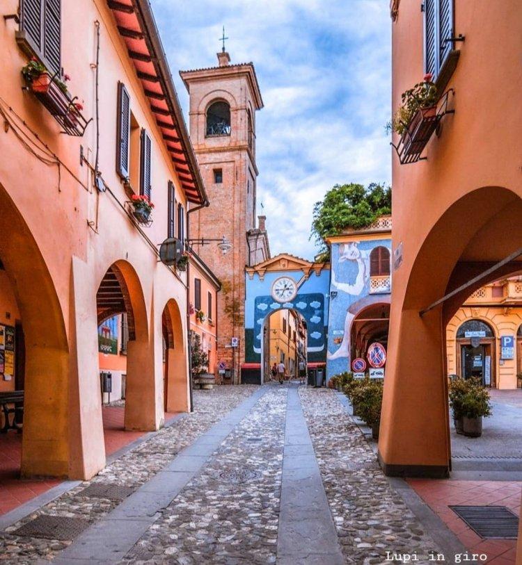 Cosa vedere a Dozza: il centro storico e i murales