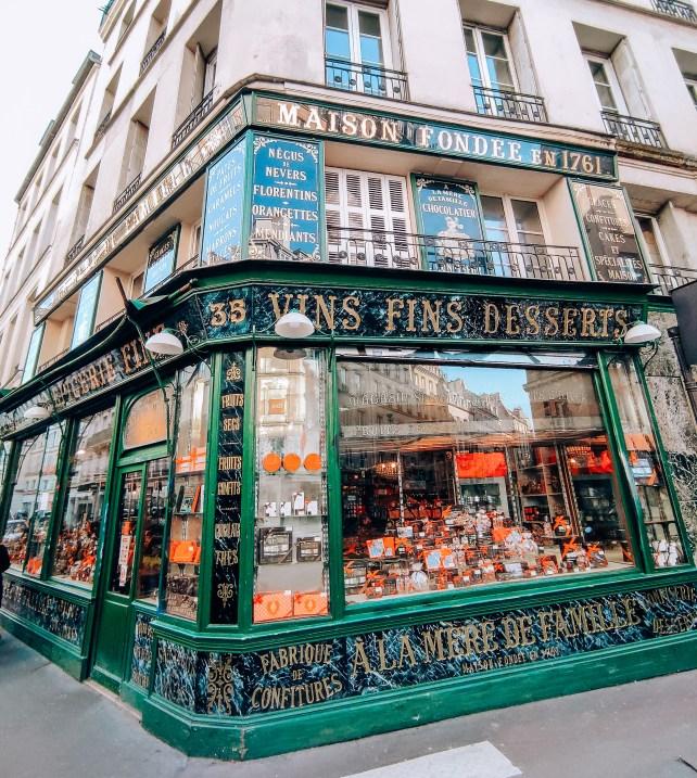 migliori pasticcerie parigi, à la Mère de famille
