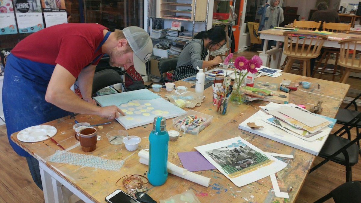 Read more about the article My First Art Class – Week 5 & 6